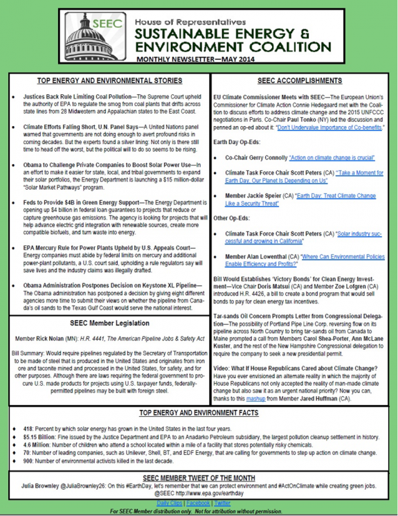 SEEC May Newsletter