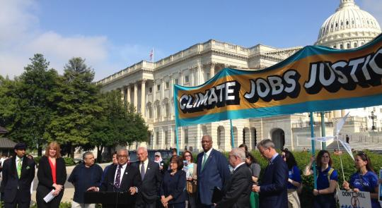 SEEC Members Call for Climate Jobs, Justice, Action feature image